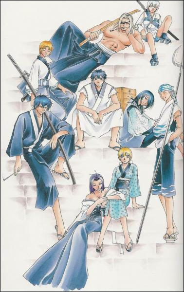A quel manga correspond ce(s) personnage(s) ?