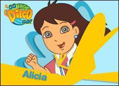 Quel âge a Alicia (soeur de Diego) ?