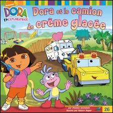La crème glacée préférée de Dora est... .