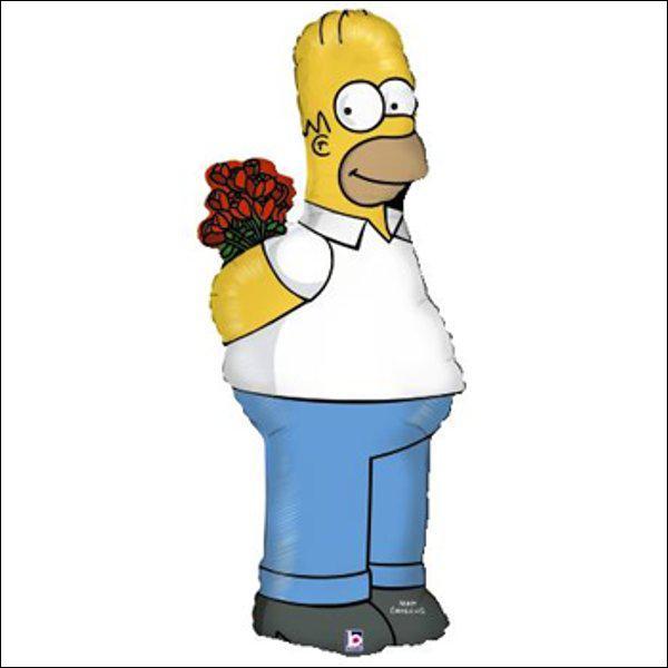 Voilà ! ... un bouquet, c'est mieux que d'être...