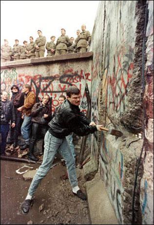 Date de la chute du mur de Berlin