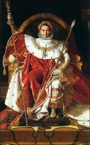 Où fut exilé Napoléon en 1814 ?