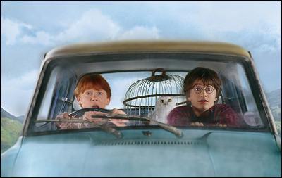 Comment Harry s'échappe-t-il de Privet Drive ?