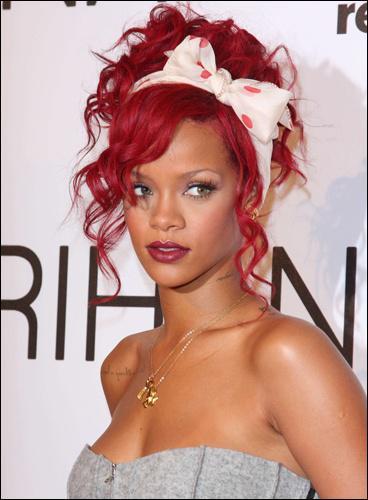 Quelle est la couleur préférée de Rihanna ?