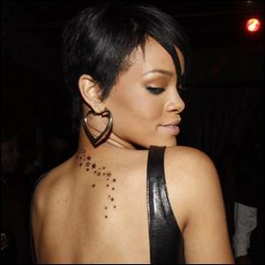 Combien Rihanna a de tatouages ?