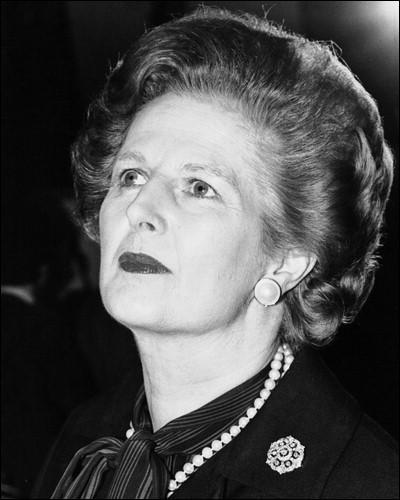Laquelle de ces affirmations est fausse à propos de Margaret Thatcher ?