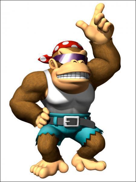 Peut-on jouer avec Funky Kong ?