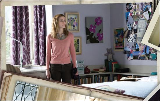 Dans 'Harry Potter et les Reliques de la Mort', que dit Hermione à Bellatrix quand elle lui demande ce qu'ils ont pris d'autre dans son coffre à Gringotts ?