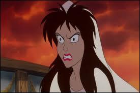 Dans quel film de Disney apparaît cette charmante mais méchante jeune femme ?
