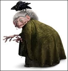 Dans quel film apparait cette vieille sorcière, finalement plus excentrique que méchante ?