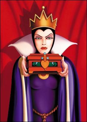Dans quel film de Disney apparaît cette méchante reine ?