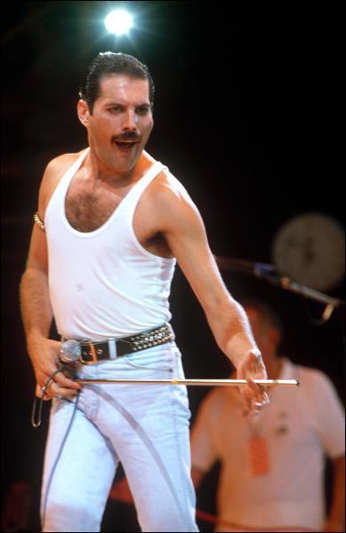 Comment s'appelle le premier et meilleur chanteur de Queen, qui nous a quitté à cause du sida ?