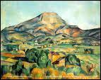 La Montagne Sainte Victoire :