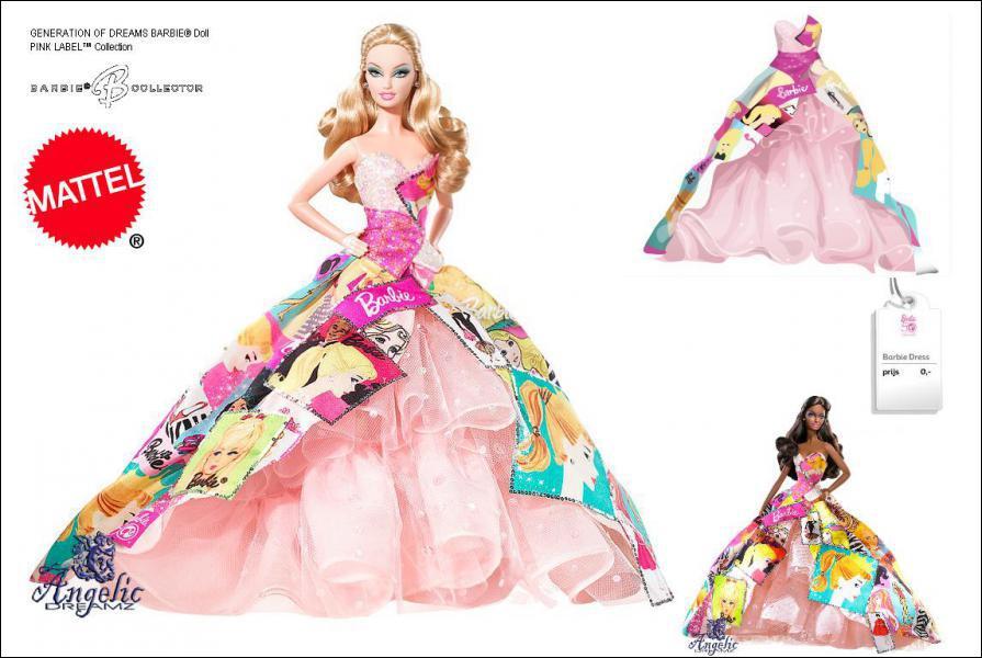 Par quelle entreprise Barbie a-t-elle été commercialisée ?