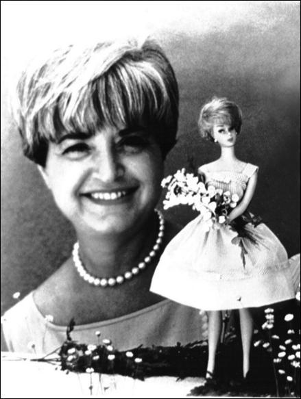 Quel est le nom de la personne qui a inventé Barbie ?