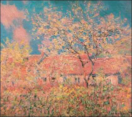Qui a peint Printemps à Giverny ?