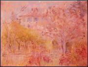 Qui a peint Jardin de Cimiez au printemps ?