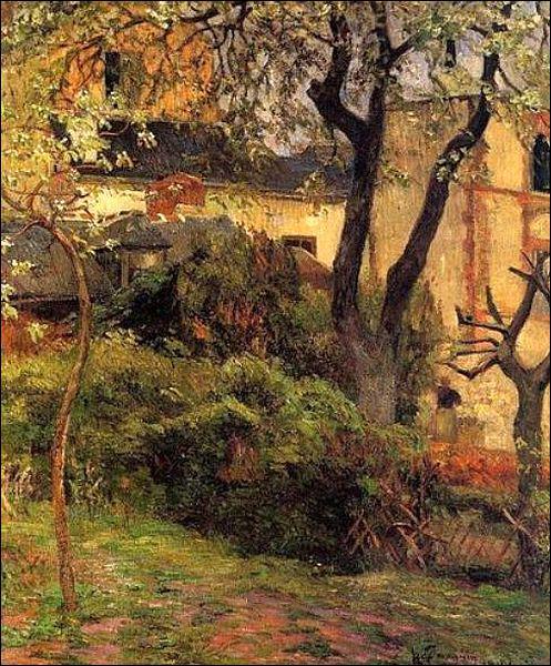 Qui a peint Printemps à Rouen ?