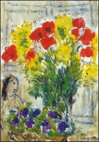 Qui a peint Fleurs de Printemps ?