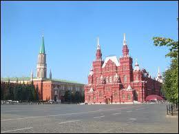 Où trouve-t-on la Place Rouge en Russie ?
