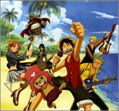 Quel manga se passe dans un monde rempli de pirates partis à la recherche d'un trésor ?