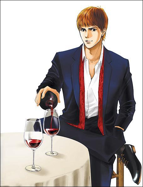 Quelle série de mangas a pour sujet le vin ?