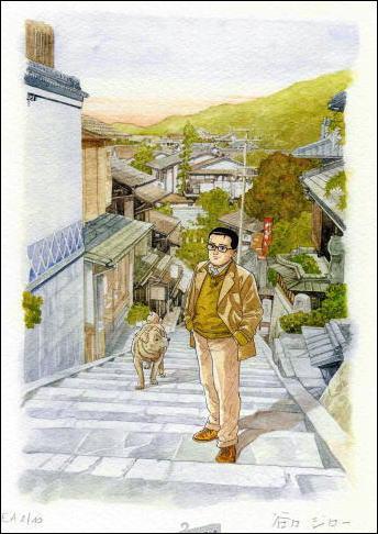 Lequel de ces mangas n'est pas l'oeuvre de Jiro Taniguchi ?