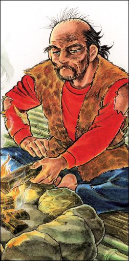 Quel manga de Hiroshi Motomiya raconte l'histoire d'un sexagénaire désespéré qui part vivre dans la forêt ?
