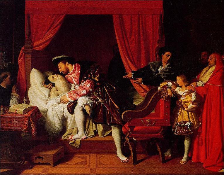 Léonard de Vinci est mort en 1519. Mais dans quel chateau?