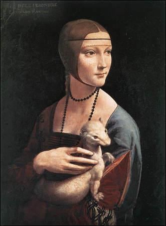 Dans le portrait de Cecilia Gallerani dit 'la femme à l'hermine' que representait cet animal au temps de la Renaissance?