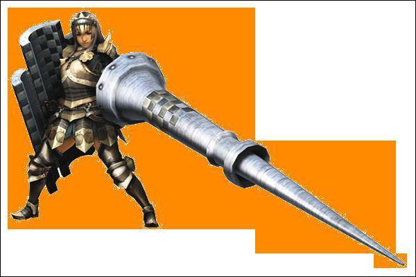 Quelle arme porte ce guerrier ?