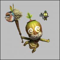 Quel est ce petit monstre vous suivant tout au cours du jeu ?
