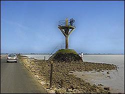 Comment s'appelle le passage qui relie l'Ile de Noirmoutier au continent ?