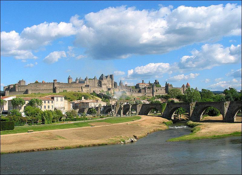 La cité médiévale de Carcassonne est la plus grande ...