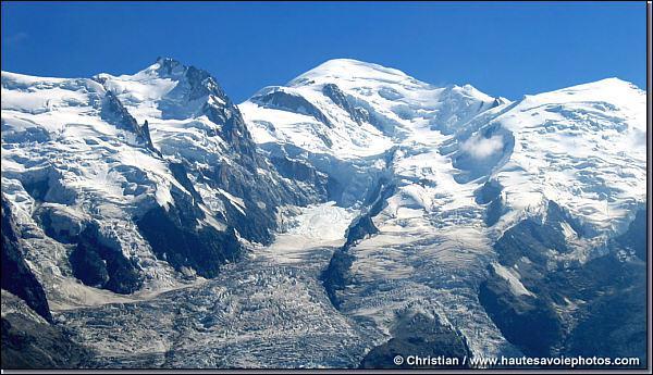 Dans quel massif montagneux est situé le Mont Blanc ?