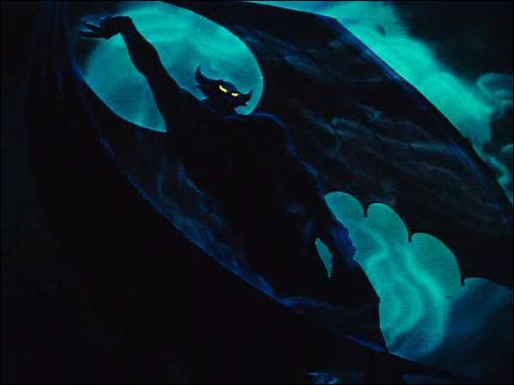 Comment s'appelle le démon qui fait apparaître des monstres dans la dernière séquence : 'Une nuit sur le mont chauve' ?