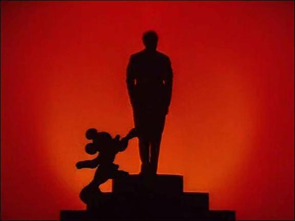 Fantasia est un film presque exclusivement musical. Combien de personnages parlent dans ce film ?