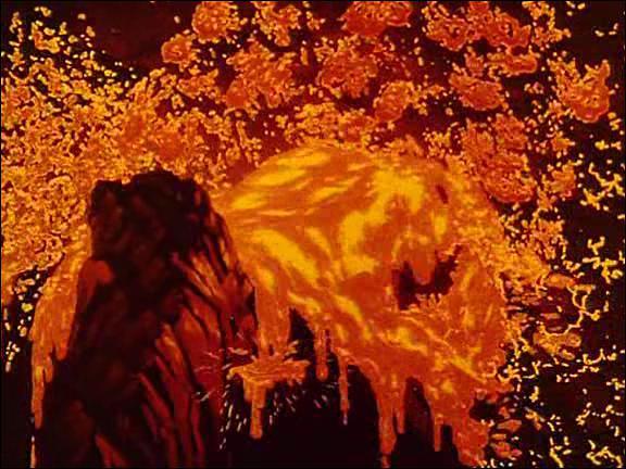 Comment s'appelle le quatrième court-métrage qui met en scène la naissance du monde ?
