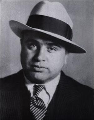 De parents napolitains, 'Scarface' est devenu le parrain de la mafia de Chicago dans les années 1920.