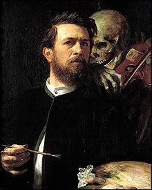 Qui a peint 'L'île des morts' ?