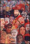 Qui a peint 'La mort et les masques' ?