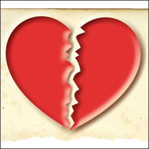 Les histoires d'amour finissent mal, en général. Si seulement 38% des personnes déclarent rompre en face à face, quelle est la seconde méthode la plus utilisée ?