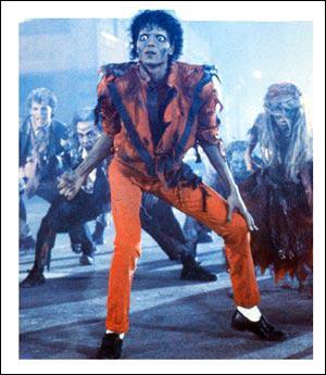 Comment s'appelle le clip de MJ où on voit desi zombies ?