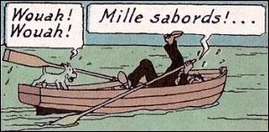 ''Mille milliards de mille sabords ! '' ... Savez-vous ce qu'est un sabord dans un navire ?