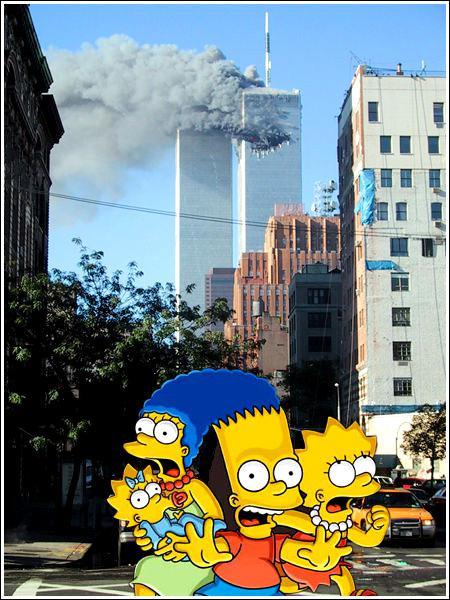 Des catastrophes, il y en a partout... celle là, c'était en 2001, on a eu la trouille de notre vie. Des avions s'écrasaient sur ...