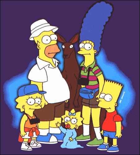 Mais il y a eu de bons moments, comme celui-là, où mon père a mis Bart dans la poche d'une grosse bestiole qui s'est enfuie, c'était en...