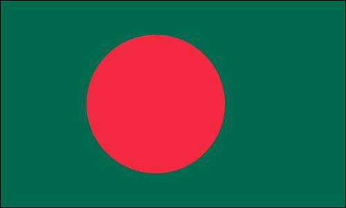 Quel pays d'environ 160 millions d'habitants, dont la capitale est Dhaka, est situé sur le continent asiatique ?