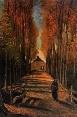 Qui a peint Peupliers en automne ?