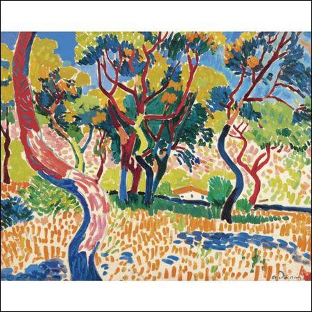Qui a peint Arbres à Collioure ?