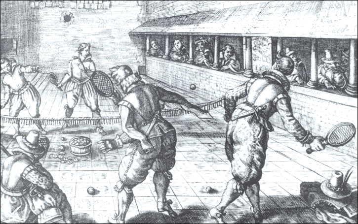 C'est un très vieux jeu de raquettes, qui existe depuis le XVIe siècle, et dont il y eut le serment en 1790 ?